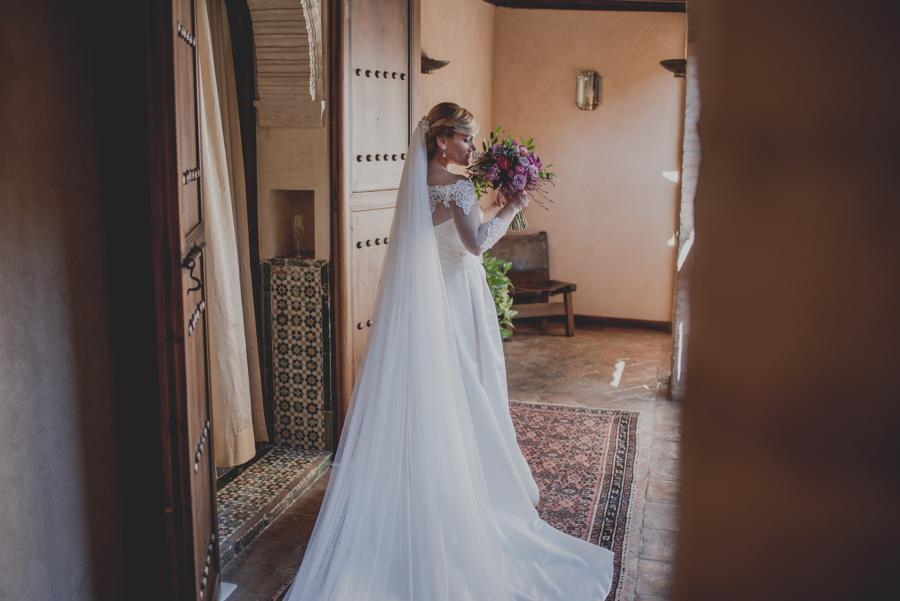 Jessica y Manolo. Boda en la Abadía del Sacromonte y Palacio de los Córdova. Fran Ménez Fotografo de Bodas en Granada 19