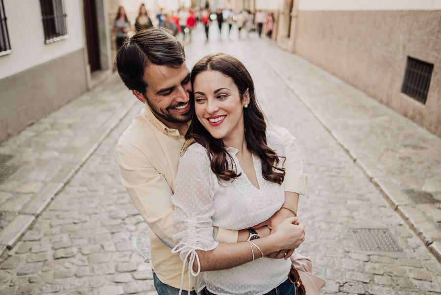 Pre Boda Fátima y Pablo. Sesión Fotográfica en el Albaicin, Granada. Por Fran Ménez Fotógrafo de Bodas 10