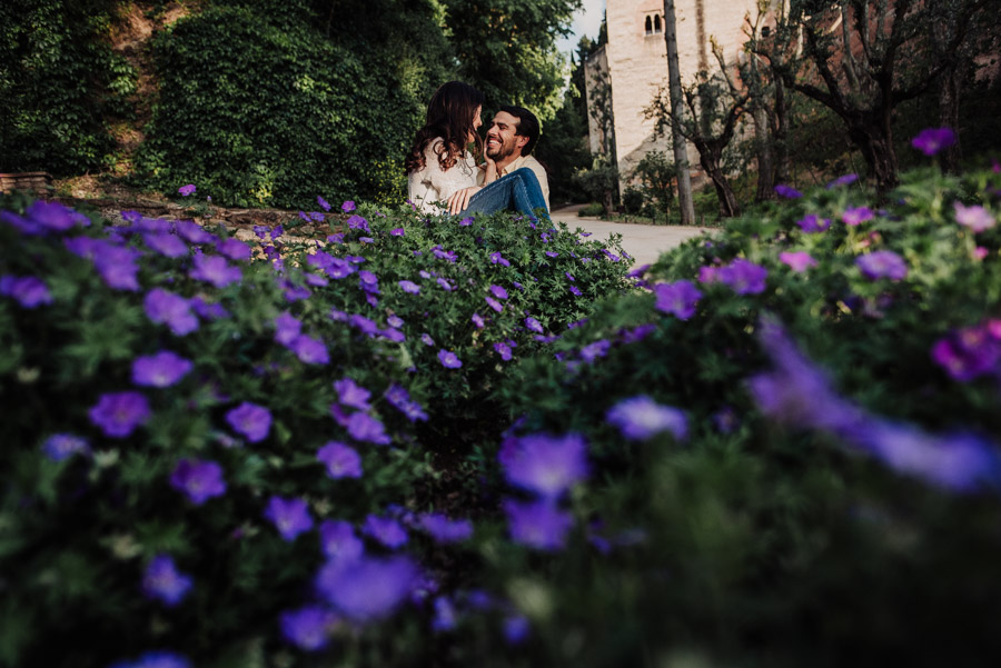 Pre Boda Fátima y Pablo. Sesión Fotográfica en el Albaicin, Granada. Por Fran Ménez Fotógrafo de Bodas 19