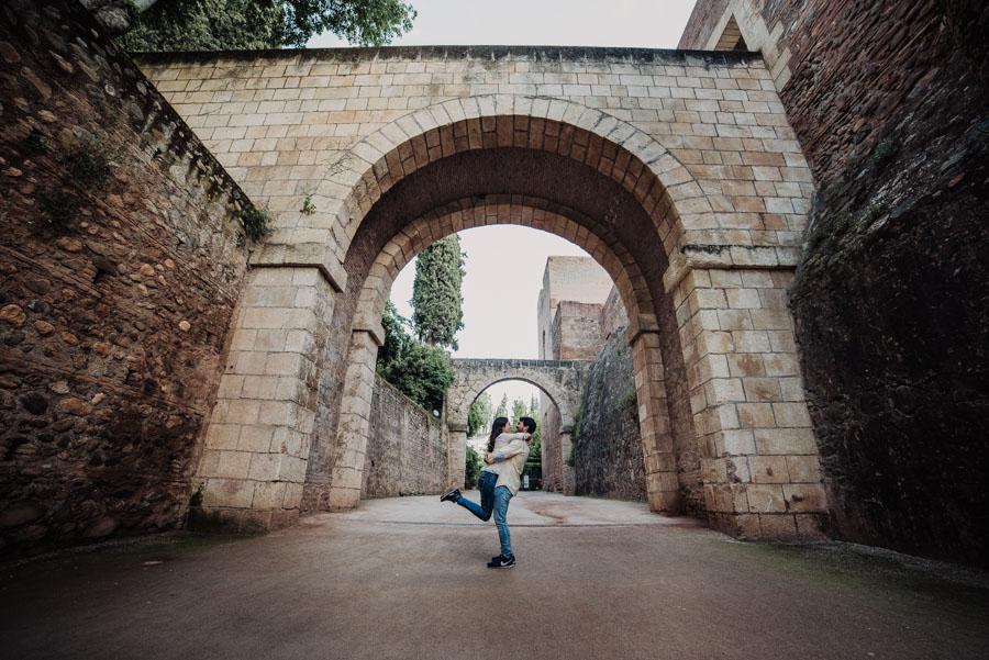 Pre Boda Fátima y Pablo. Sesión Fotográfica en el Albaicin, Granada. Por Fran Ménez Fotógrafo de Bodas 23