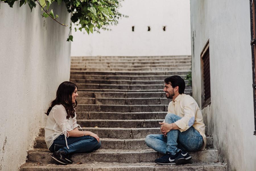 Pre Boda Fátima y Pablo. Sesión Fotográfica en el Albaicin, Granada. Por Fran Ménez Fotógrafo de Bodas 6